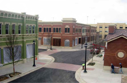 Sothlake Town Center Shopping Mall in Southlake, TX.
